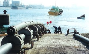 Underwater Construction Services- DSV Pipeline Scene